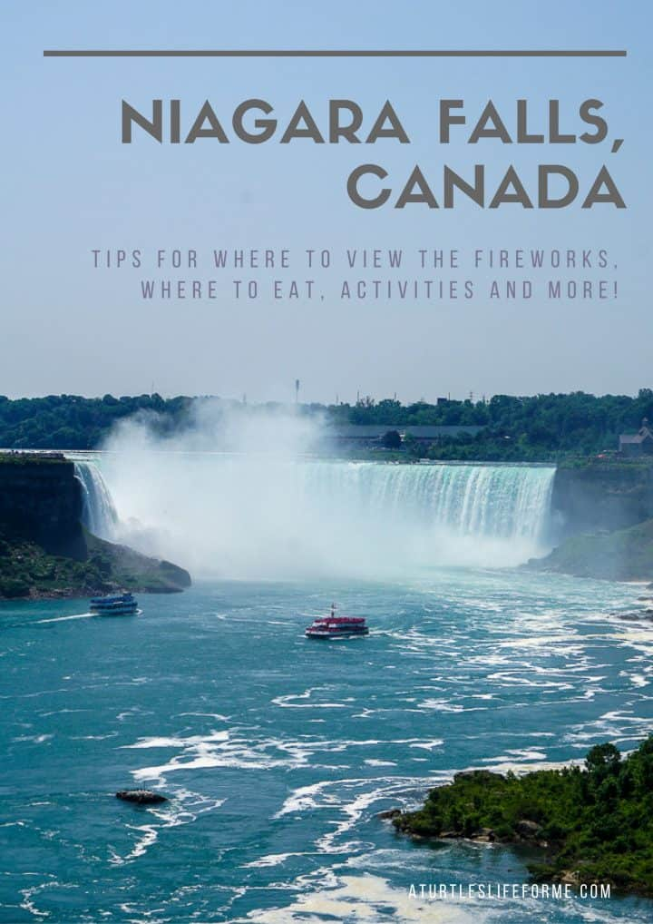 Niagara Falls Canada Vacation Tips