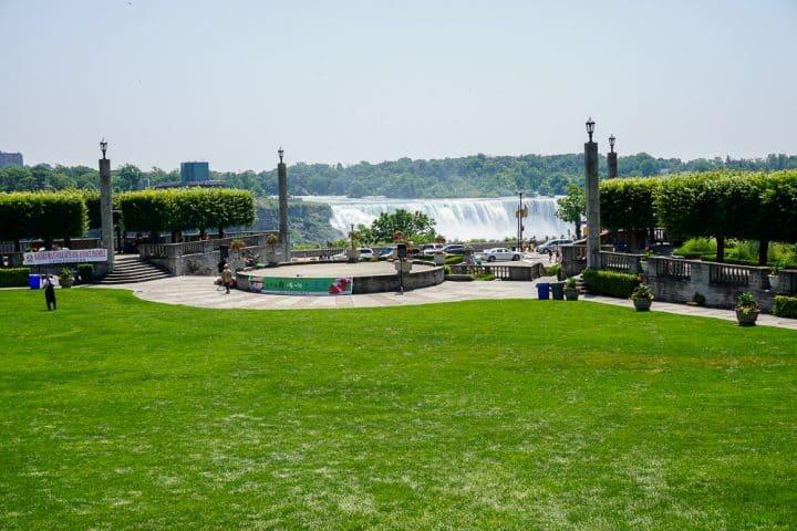 Queen Victoria Park Niagara Falls Canada location
