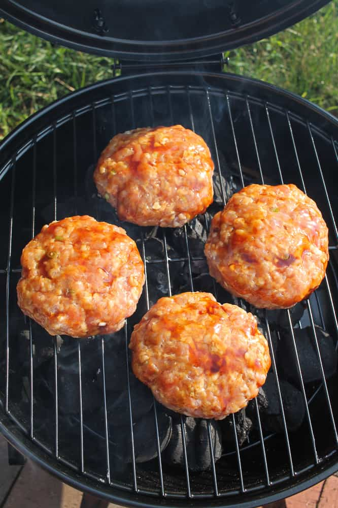 asian pork burgers recipe grilled
