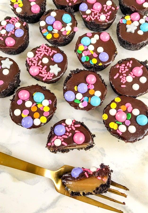Homemade Chocolate Caramel Tarts Recipe
