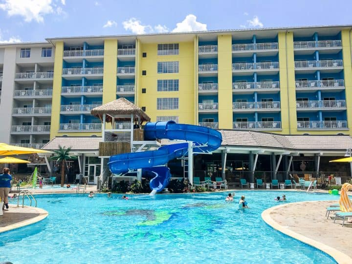 Margaritaville Resort Gatlinburg indoor and outdoor pool