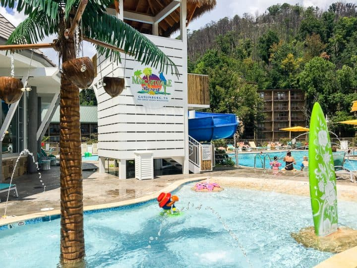 Margaritaville Resort Gatlinburg kiddie pool