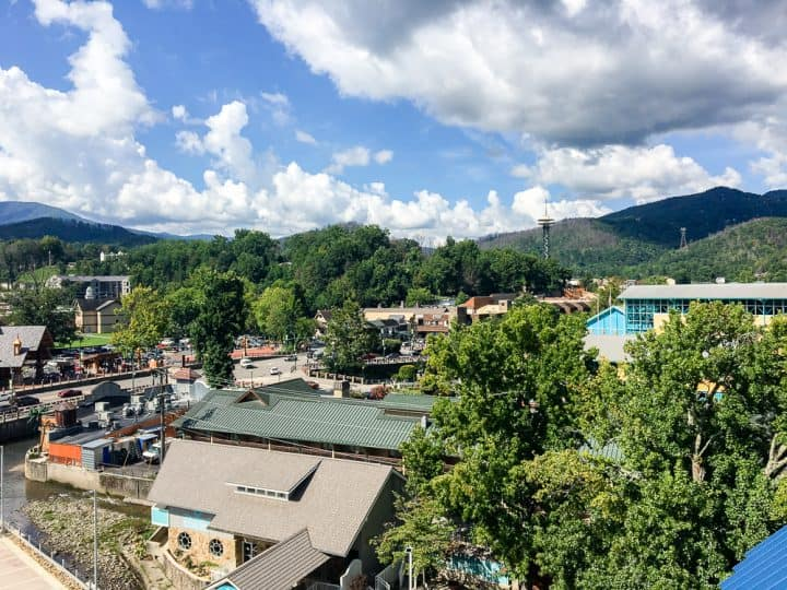 Margaritaville Resort Gatlinburg room views