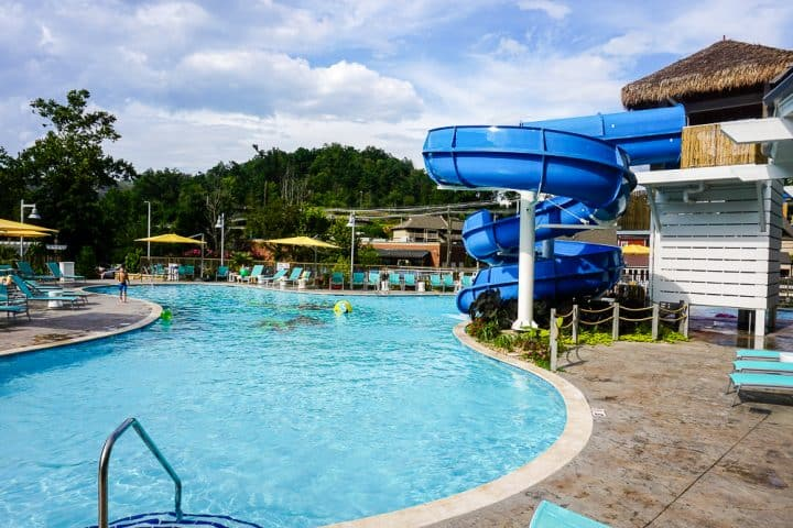 Margaritaville Resort in Gatlinburg Tennessee outdoor pool