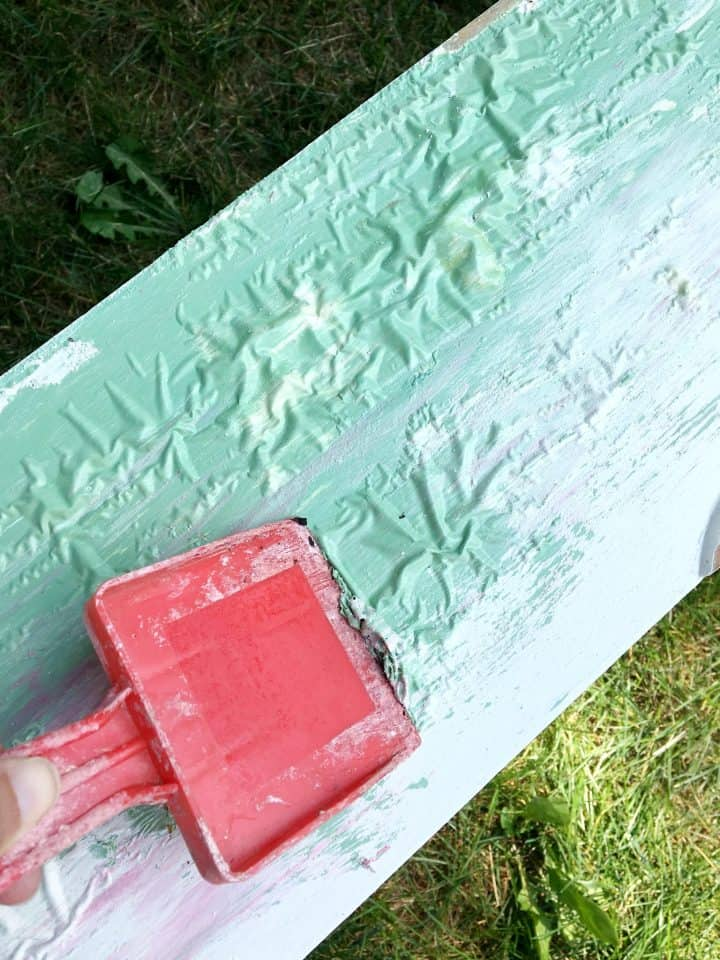 how to remove paint from wood dresser