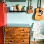 Modern Rustic DIY Dresser