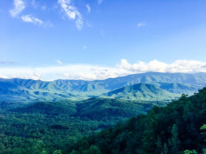 Smoky Mountains in Tennessee