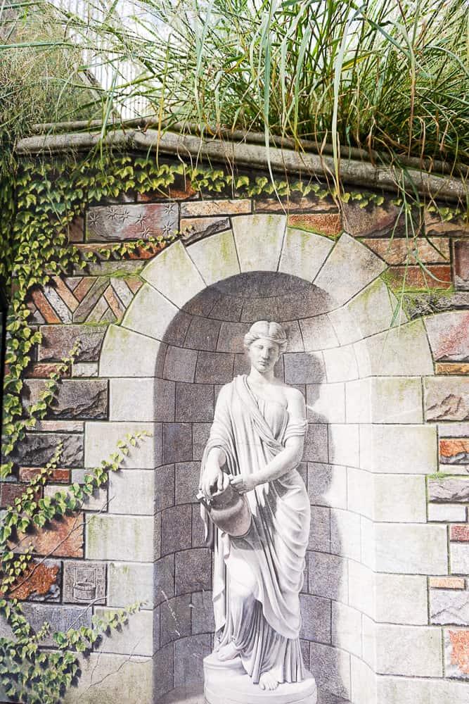 trompe l'oiel murals in Frederick MD