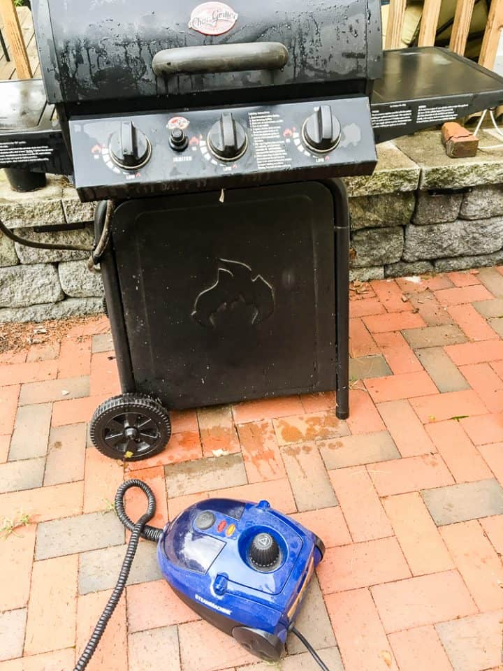 How to clean a grill with a steam machine-9