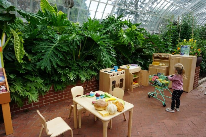 Phipps Conservatory Children's play area