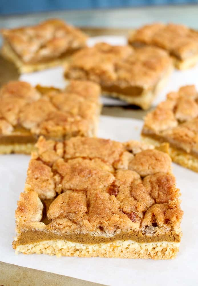 Pumpkin Pie Cake Mix Bars Recipe