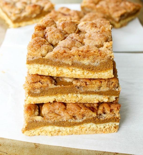 Pumpkin Pie Bars Desserts: Pumpkin Pie Bars With Cake Mix