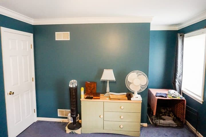 master bedroom makeover after painting_