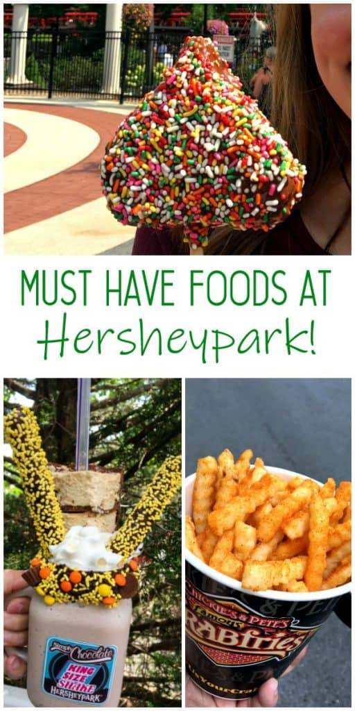 top Hersheypark foods you have to eat