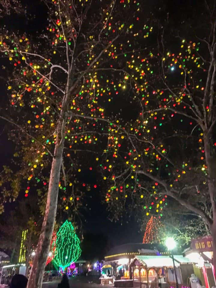 Christmas Candylane at Hersheypark first visit