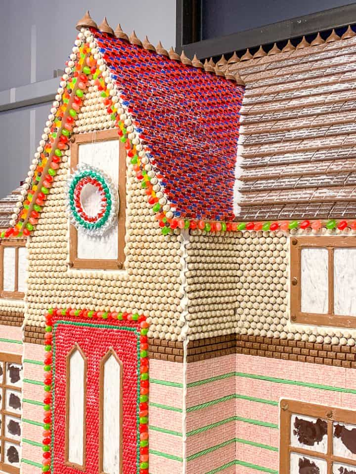 Chocolate World Christmas Gingerbread House