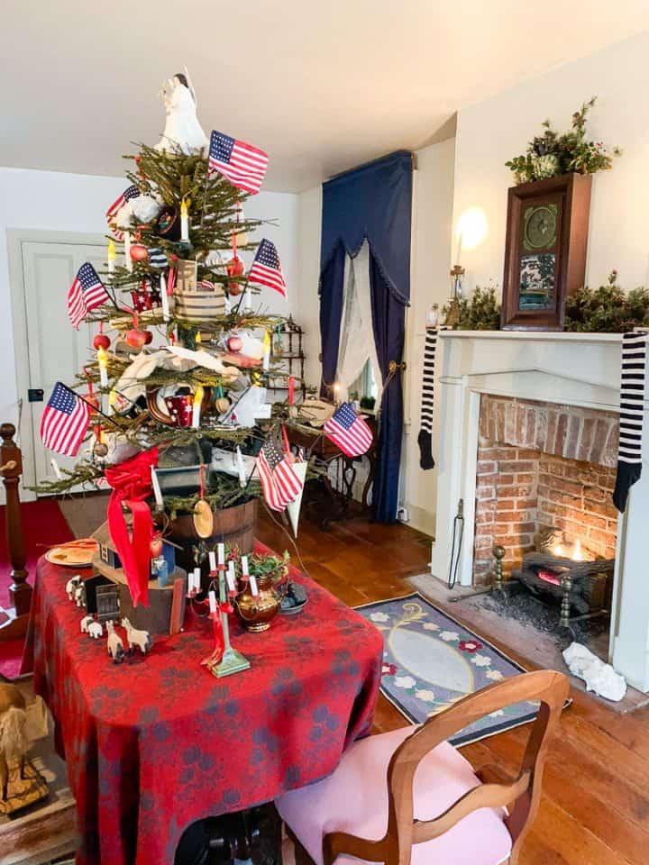 Gettysburg Shriver House Christmas tour