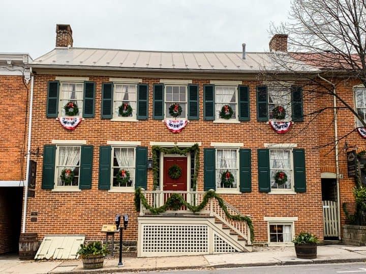 Gettysburg Shriver House tour