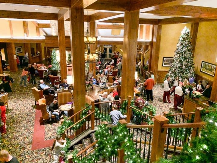 Hershey Lodge Christmas activities