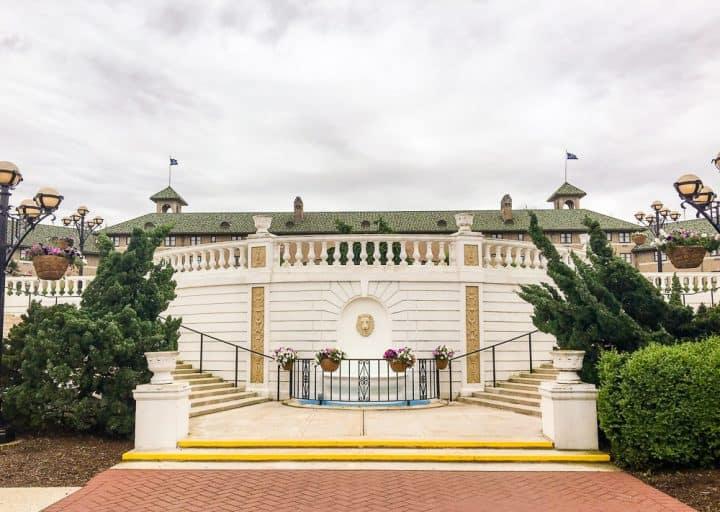 Hotel Hershey formal gardens