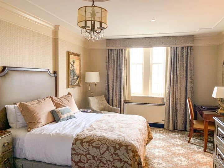 Hotel Hershey queen hotel room