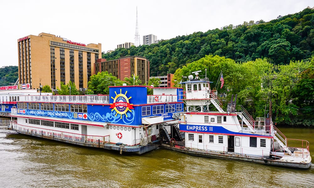 Tour cruise in Pittsburgh