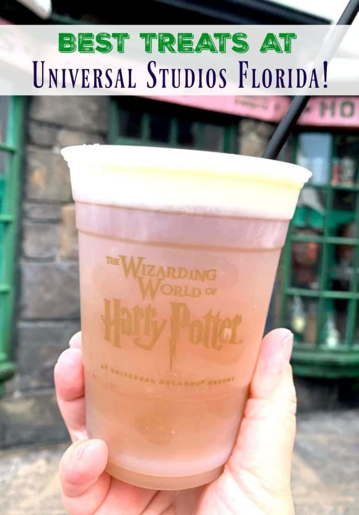Butterbeer drink at Wizarding World of Harry Potter