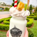 key lime pie milkshake at Toothsome's Chocolate Emporium at Universals CityWalk