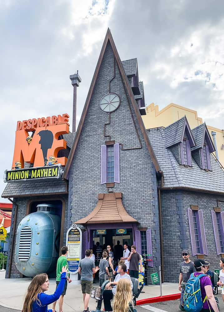 Despicable Me Minion Ride at Universal Studios Florida