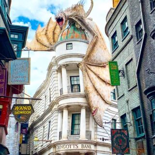 Diagon Alley Gringotts Bank at Universal Studios Orlando