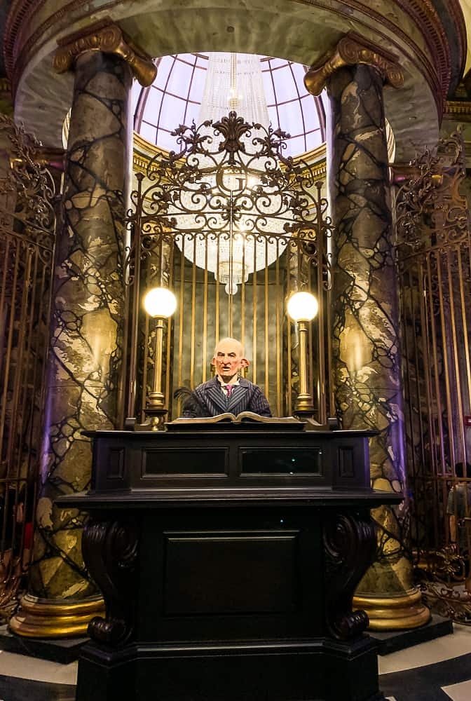 Gringotts Bank Teller at Universal Studios Florida