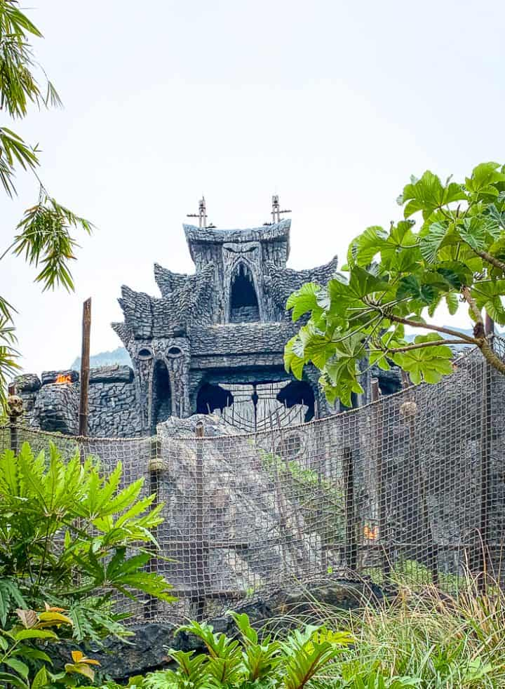 Skull Island King Kong Ride at Universals Islands of Adventure