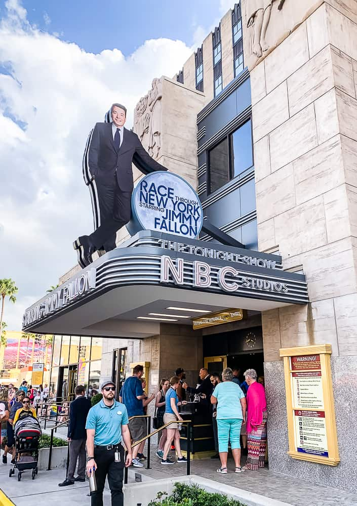 Jimmy Fallon ride at Universal Studios Florida