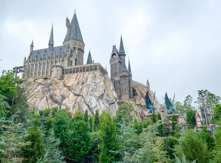 Hogwarts Castle at Universal's Wizarding World of Harry Potter