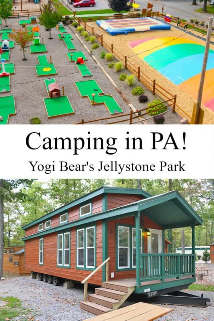 Jellystone Yogi Bear camping pa