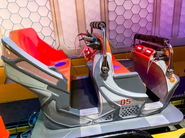 Hersheypark cupfusion ride car