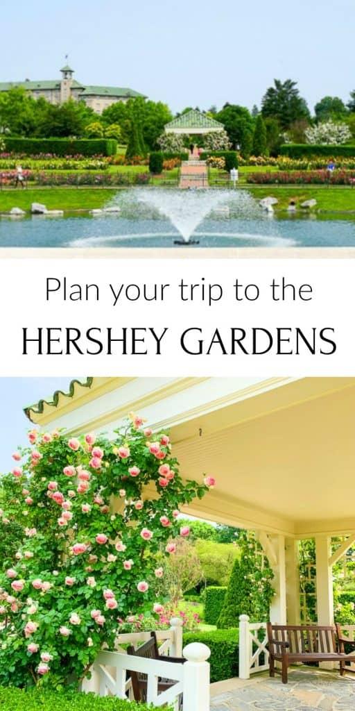 Hershey Gardens in Hershey PA